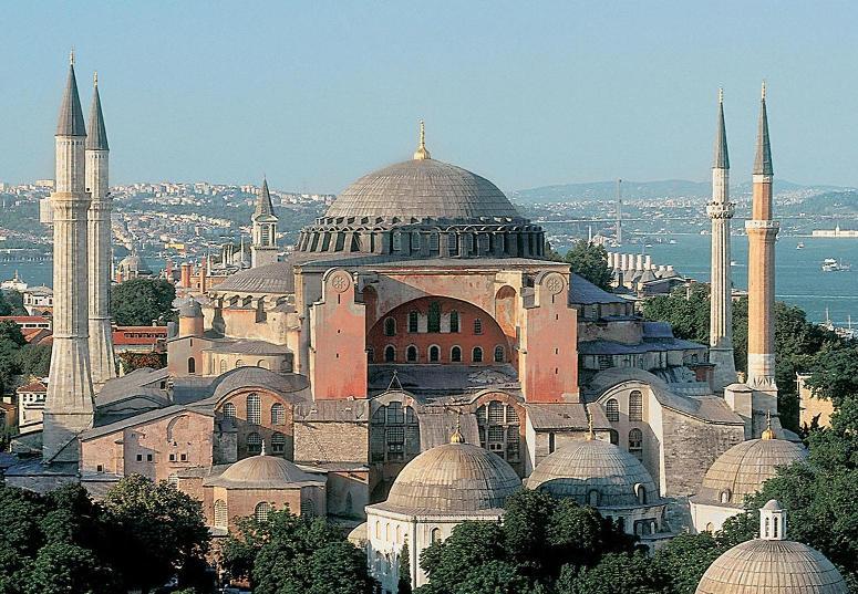Adzan Kembali Berkumandang di Aya Sofia (Hagia Sophia) Setelah 81 Tahun Dilarang Oleh Pemerintahan Sekuler