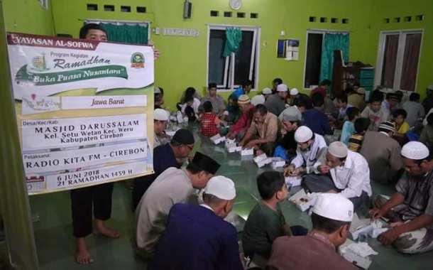 Ramadhan 1439 H Yayasan Al-Sofwa Telah Salurkan 47.000 Porsi Buka Puasa di 140 Lokasi
