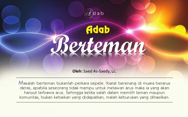 Adab Berteman