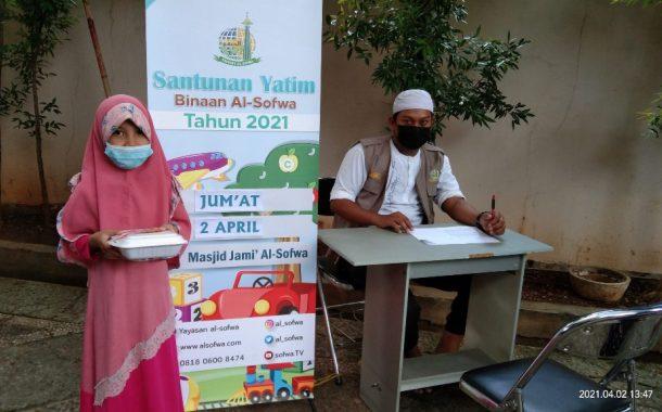 Santunan Yatim dan Janda Binaan Bulan April 2021