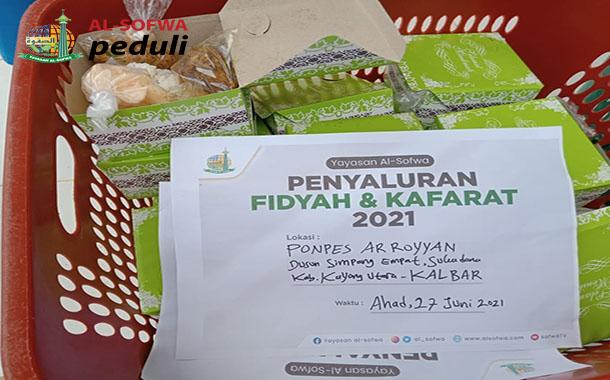 Penyaluran Fidyah & Kaffarat Di Ma'had Ar Royyan Kayong Utara – Kalbar